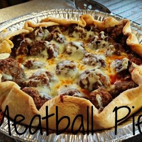 Meatball Pie Recipe (Also Known as Lumpy Space Pie)