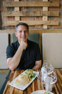 Dr. Joel Kahn and his son, Daniel, opened GreenSpace Café – an artisanal plant-based restaurant and craft cocktail bar located in Downtown Ferndale.