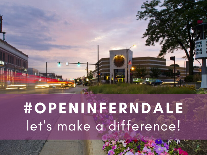 #OPENINFERNDALE Campaign Launches to Support Small Business