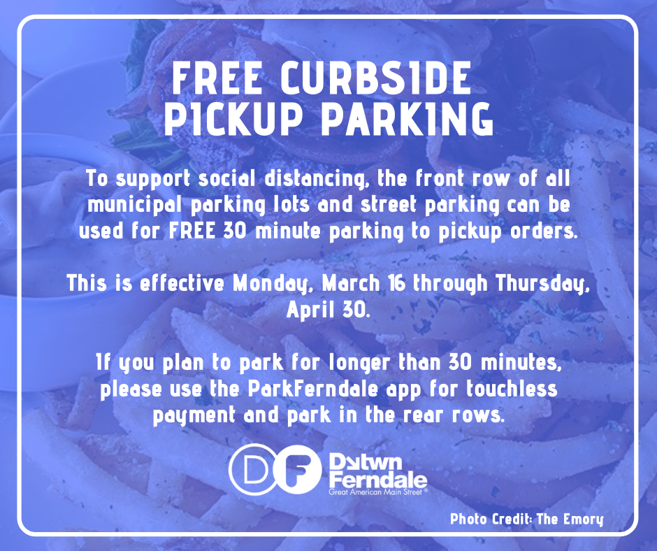 Free Curbside Parking