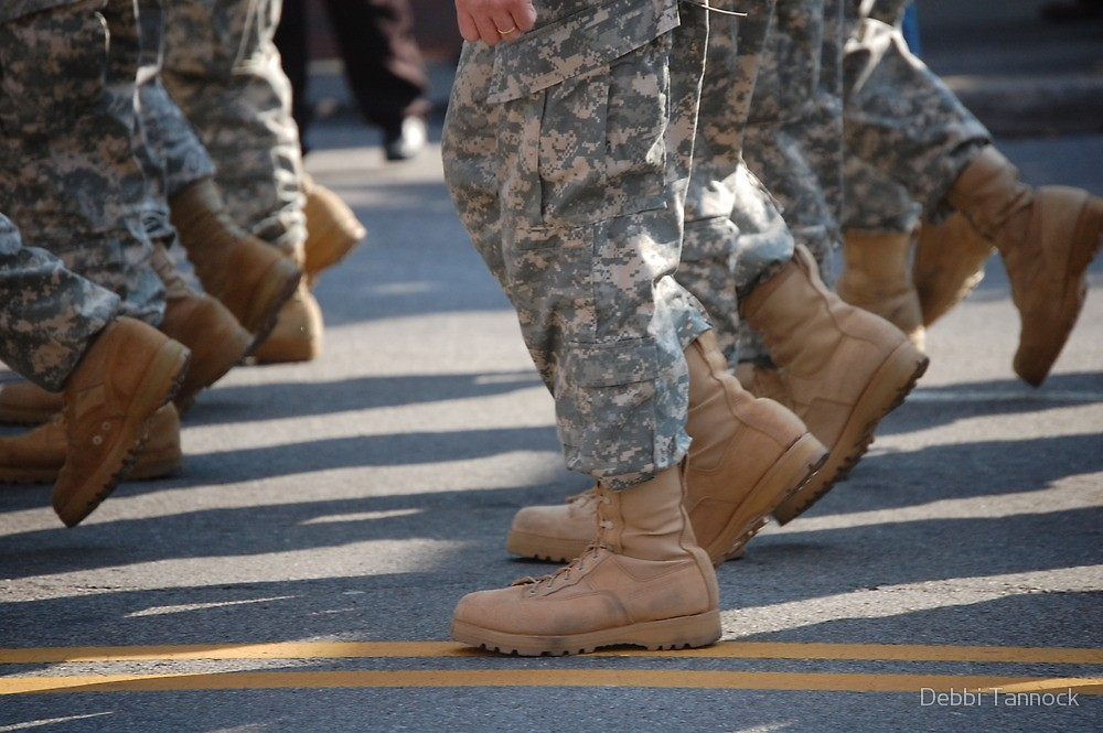 March on in truth!