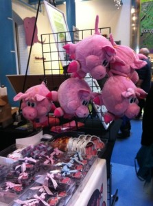 No samples, but buy a stuffed animal...