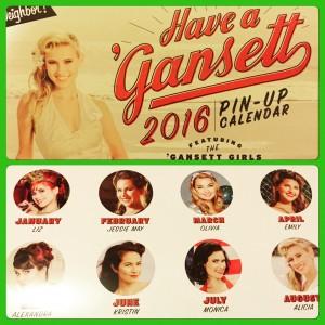 narragansett 2016 pinup calendar