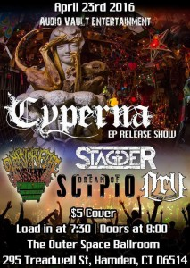 cyperna CD release party