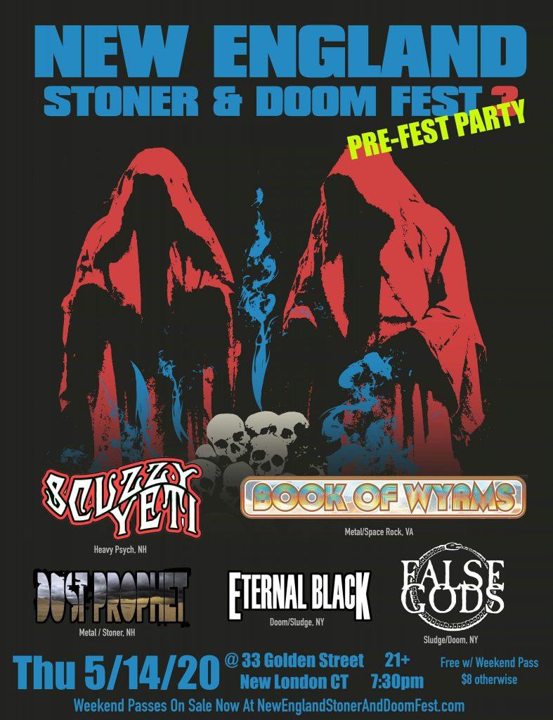 new england stoner doom fest 2020 preparty