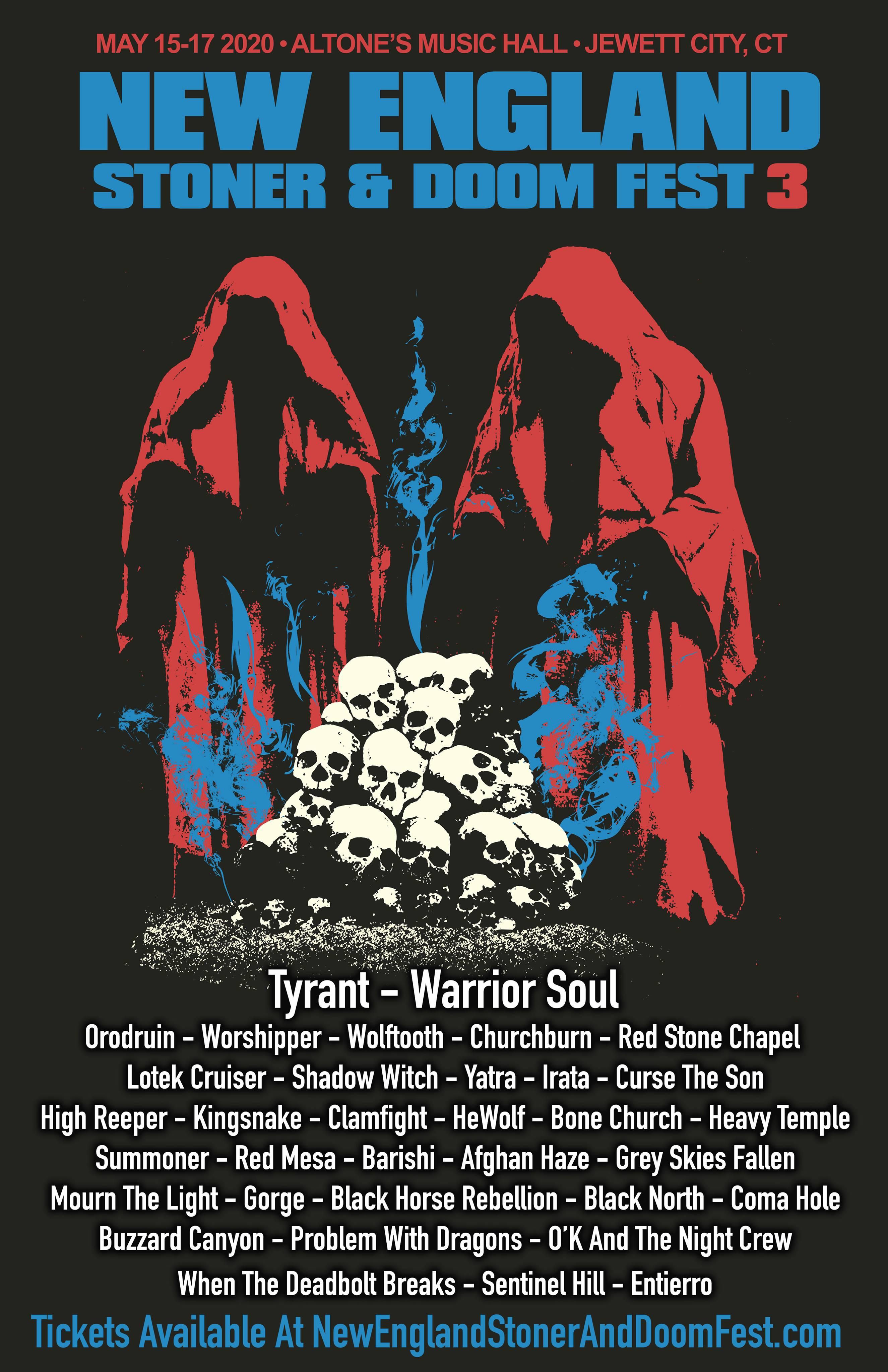 New England Stoner and Doom Festival 3