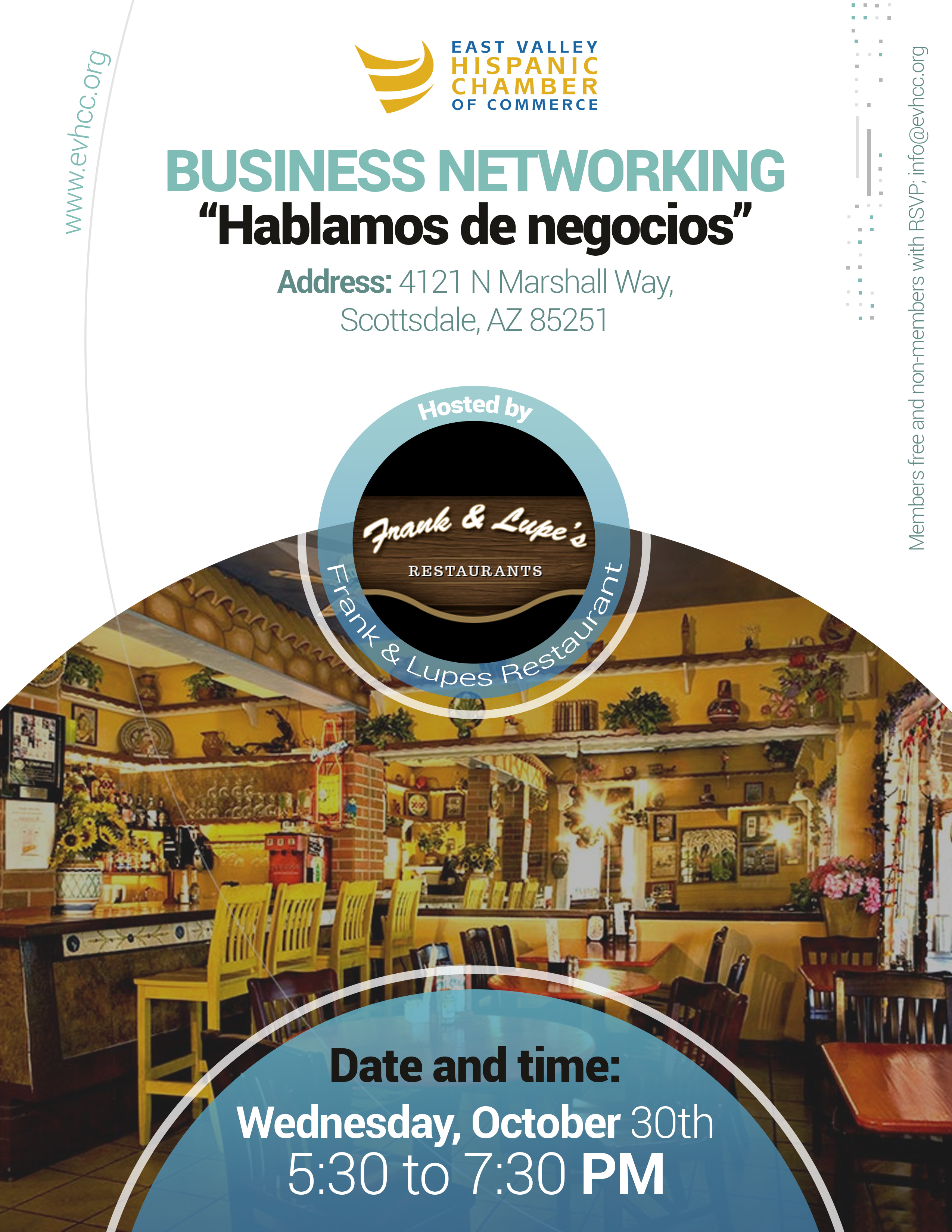 Hablemos de Negocios by the EAst Valley Hispanic Chamber of Commerce