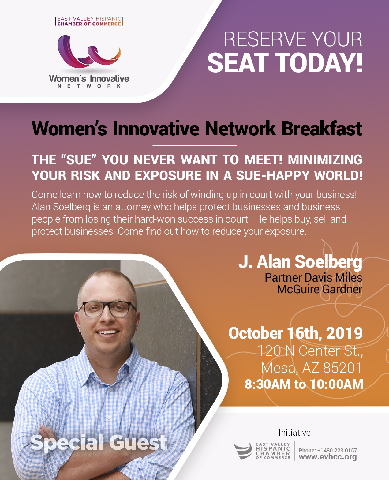 Womens Innovative Network by the East Valley Hispanic Chamber of Commerce