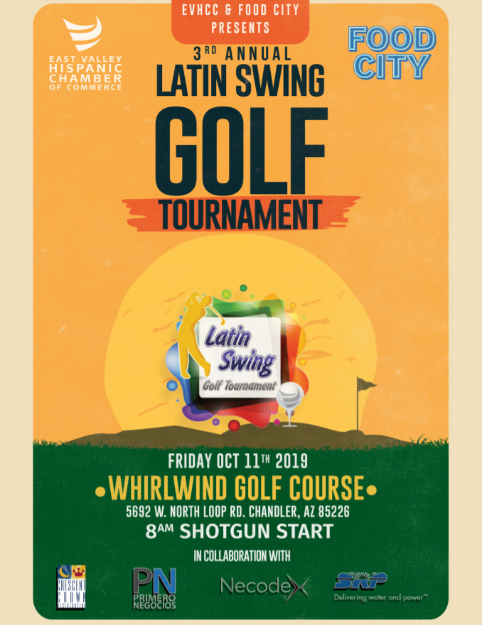 3rd annual latin swing golf tournament