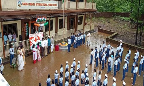 Saroj Mehta Intenational School-Independence Day