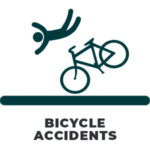BICYCLE CRASH ICON