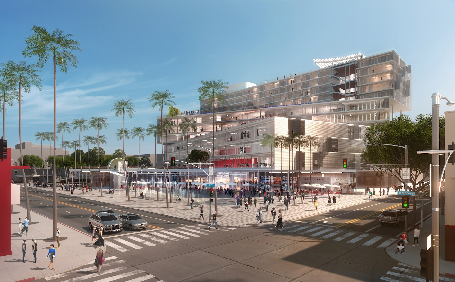 Santa Monica Plaza Gets Closer To Reality