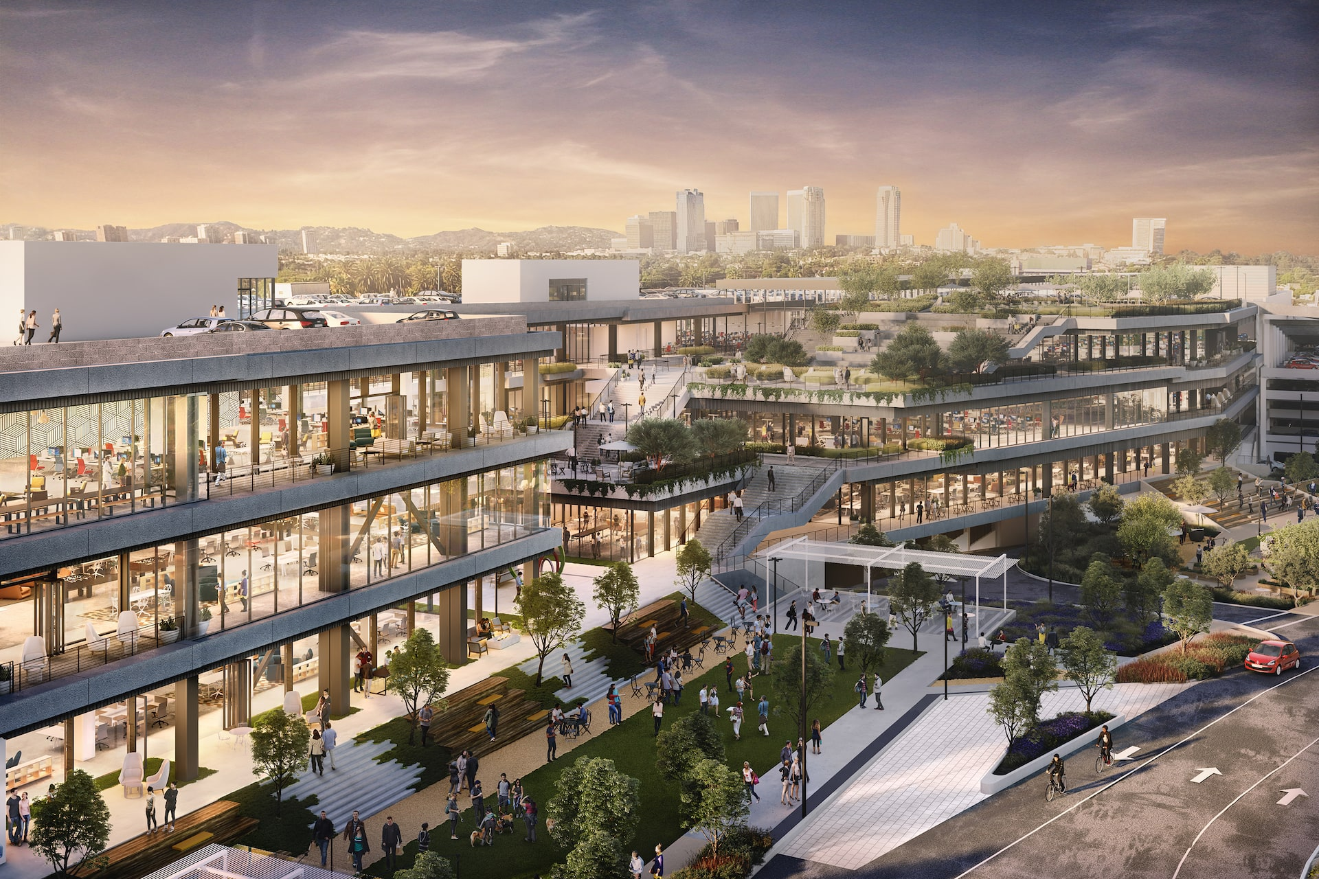 Google And Facebook Make Major Moves In Los Angeles