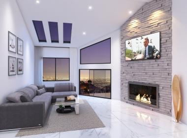 Interior - Living - Night View_HD