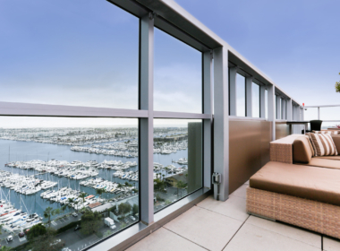 13700 marina pointe drive #1105-11 view from rooftop fireplace area B