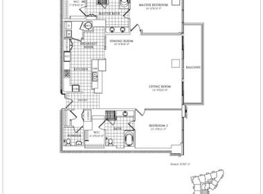 Azzurra 1808 Floor Plan