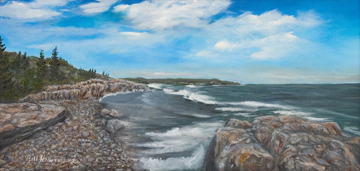 Coastline of Acadia National Park, Maine