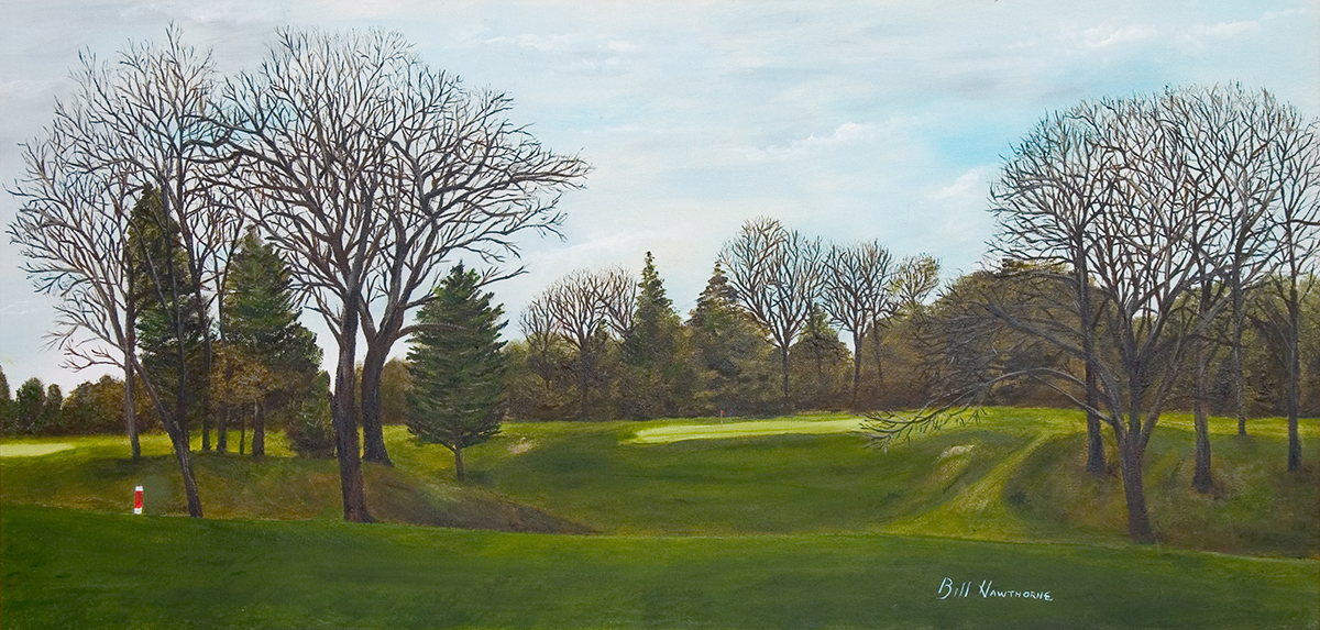 Duck Creek Golf Course No. 17  Davenport, IA