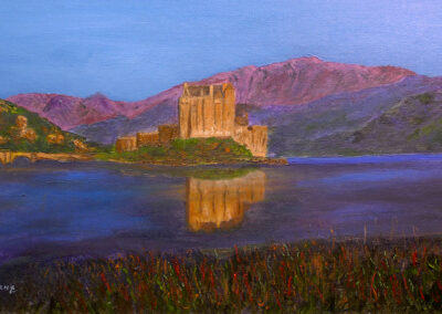 Eilean Donan Sunset, Scotland