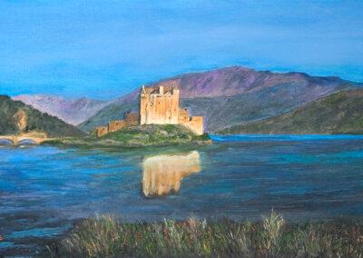 Eiliean Donan, Glistens, Scotland