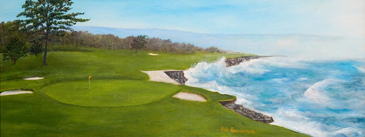 Final Hole - Pebble Beach Golf Course