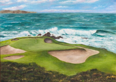 Pebble Beach Golf Course, California