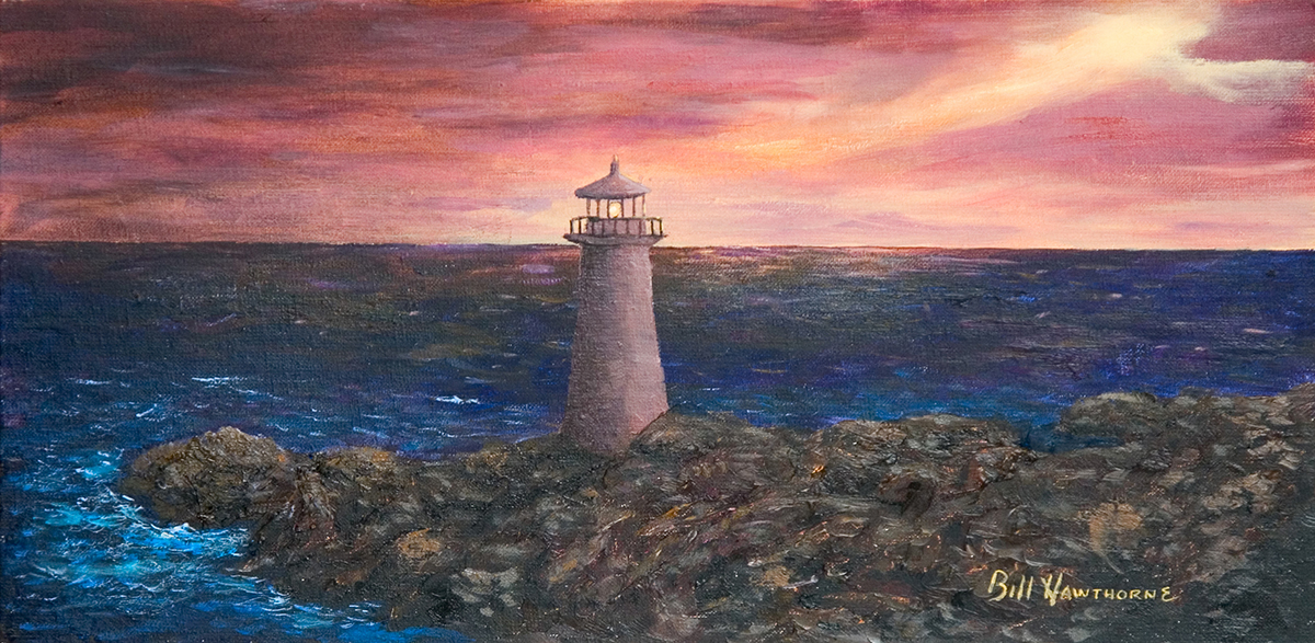 Rocky Coast Lighthouse