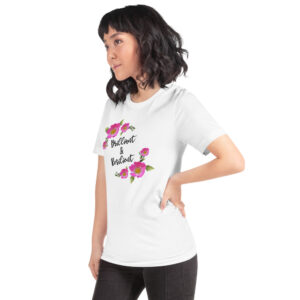 Adult Brilliant & Resilient Prairie Rose Unisex T-Shirt
