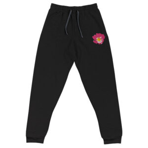 Prairie Rose Embroidered Joggers