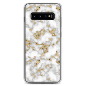 Gold Marble Samsung Case