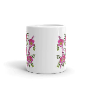 Prairie Rose Bouquet Coffee Cup