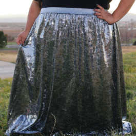 Alizzo Sequin Skirt