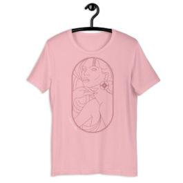 Native Goddess Rose Gold Short-Sleeve Unisex T-Shirt