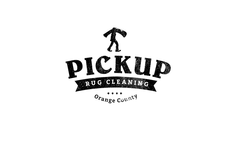 pick up rug cleaning orange county logo