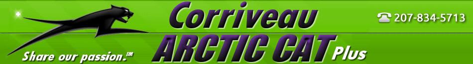Corriveau Arctic Cat Plus Logo