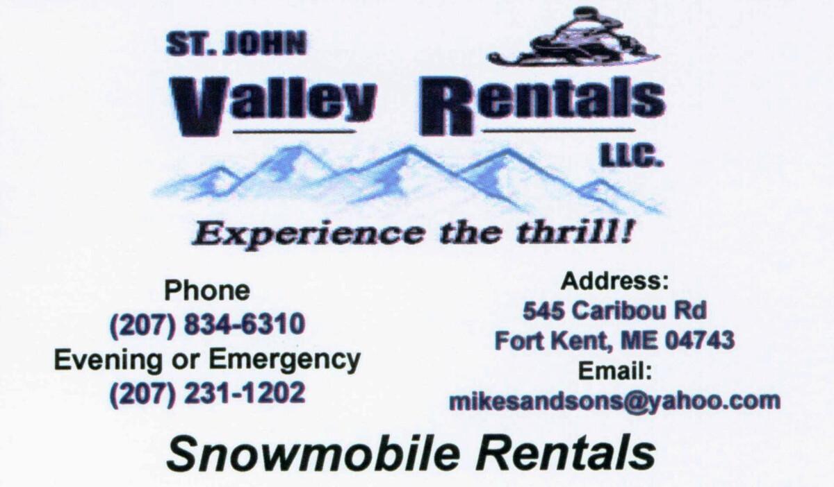 SJV Rentals card