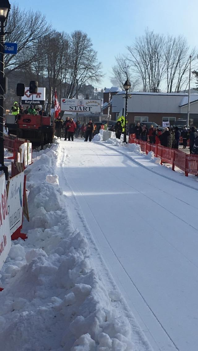 Can Am Sled Dog Race (Main Street Start)