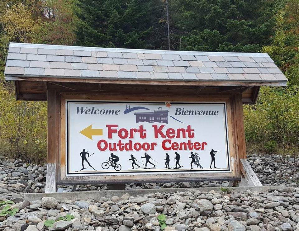 Fort Kent Outdoor Center RoadsideSign