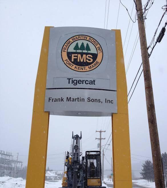 Frank Martin Sons, Inc. exterior sign 316 Market Street, Fort Kent