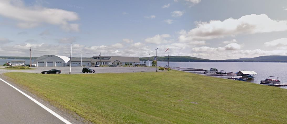 Long Lake Sporting Club Roadside View (Google Maps Image)