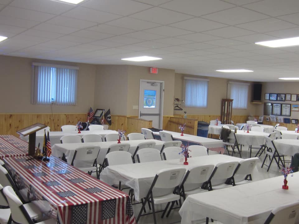 Martin Klein American Legion Post 133 Hall interior