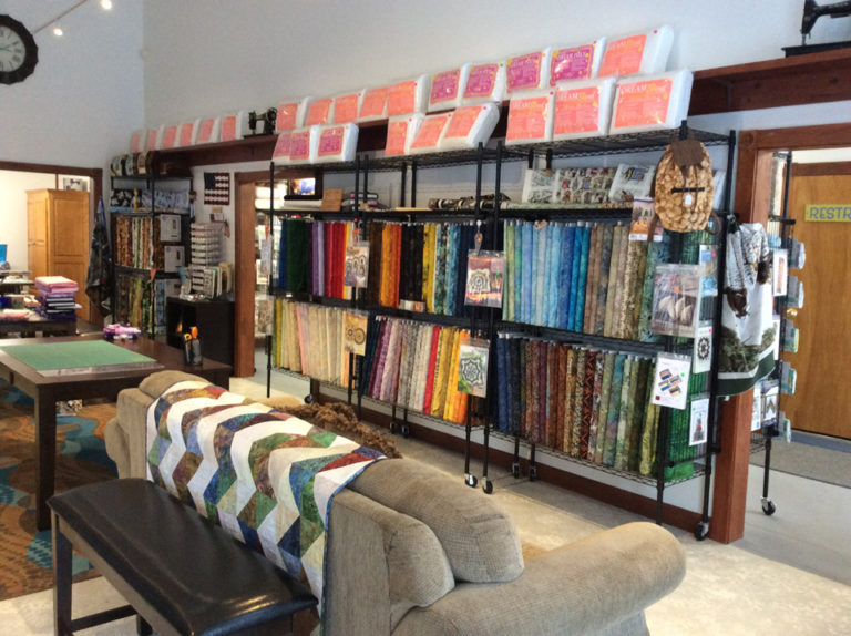 Majestic Touch Quilt Shop Interior