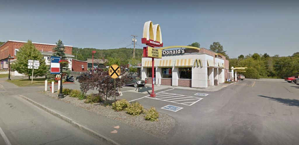 McDonald's Restaurant-Fort Kent (Google Maps Image)