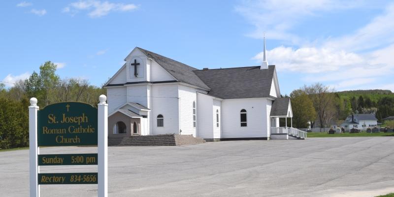 St. Joseph's Catholic Church- Wallagrass