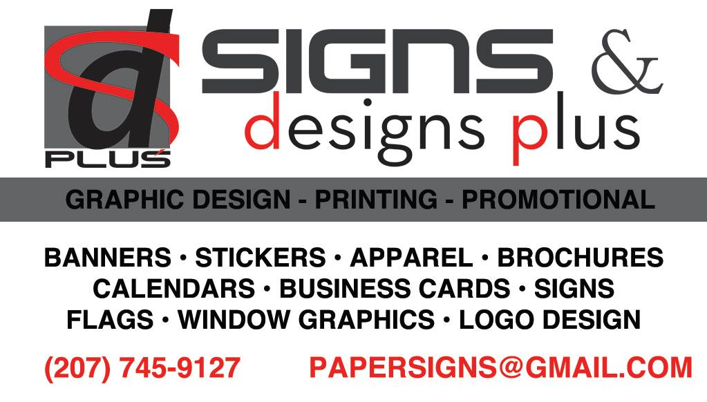 Signs & Designs Plus Business Card