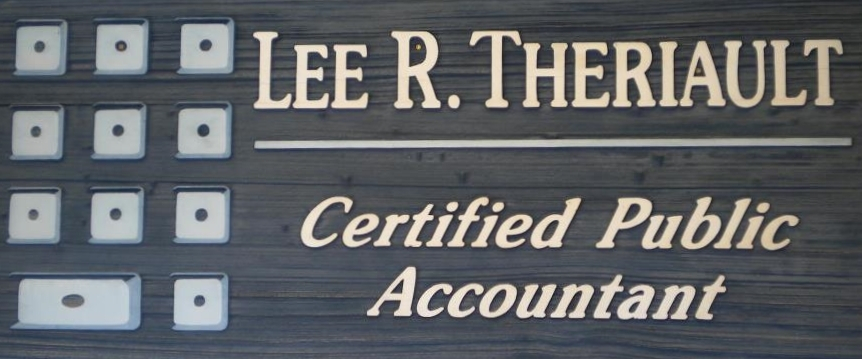 Lee Theriault, CPA Logo