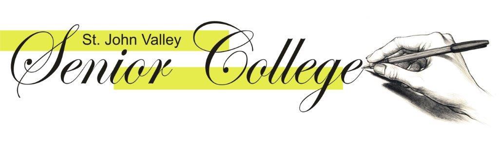 St. John Valley Senior College Logo