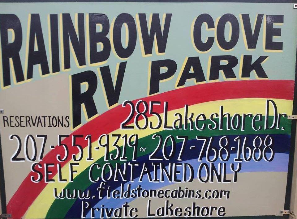 Rainbow Cove RV Park Sign