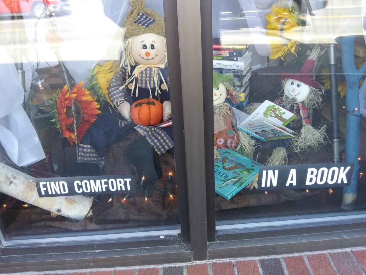 Bogan Books 2020 Scarecrow Festival Decorating Contest Best Theme Winner