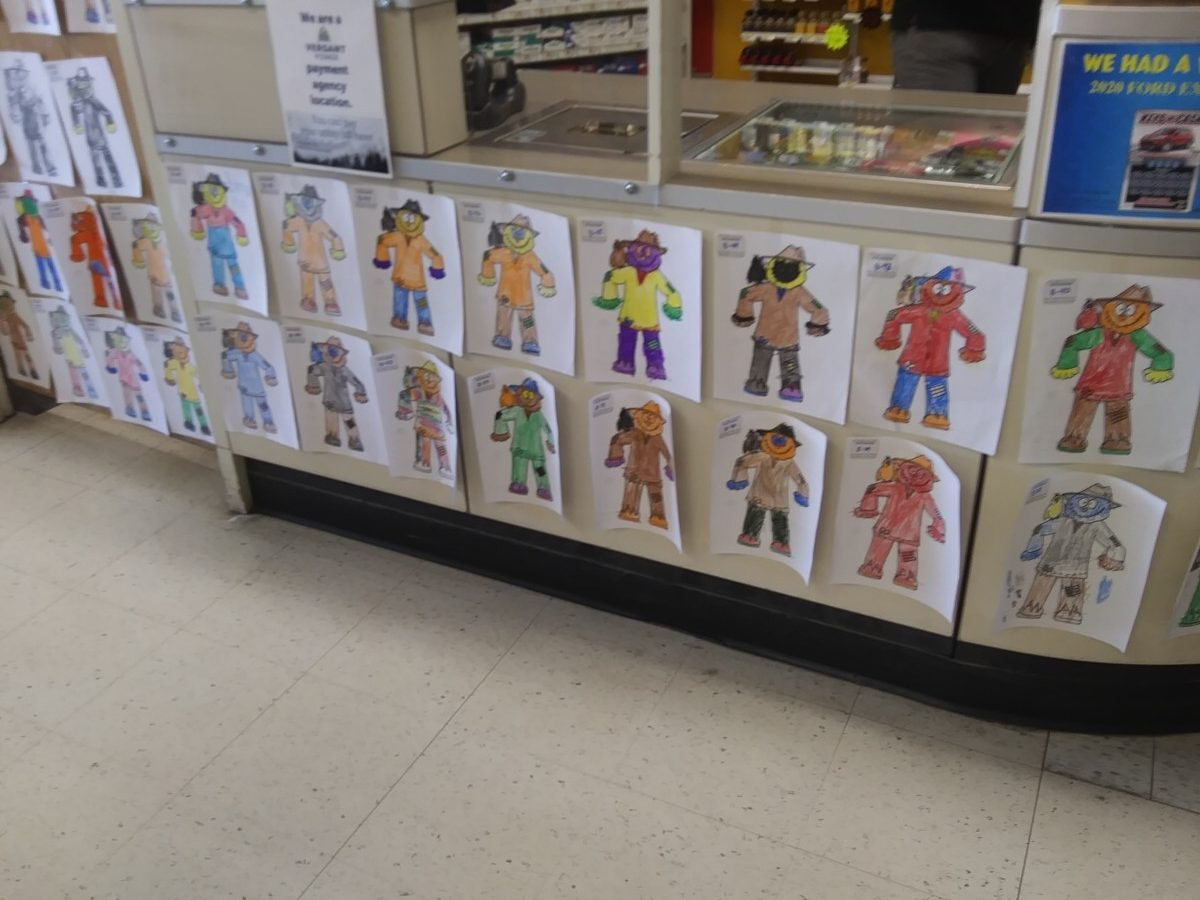 2020 Scarecrow Festival Coloring Contest Entries at Paradis Shop n Save